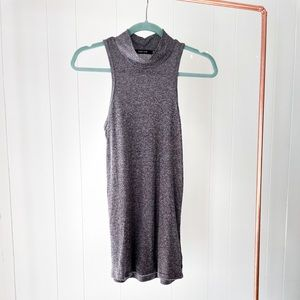 Obey Grey Rubbed Sleeveless Tank